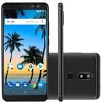 "Ficha técnica e caractérísticas do produto Smartphone Multilaser MS80 P9066, 4G, Tela de 5,7"", Câmera 20MP, Android 7.1, Dual Chip - Preto"