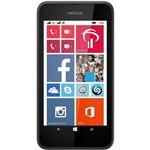 Smartphone Nokia Lumia 530 Dual Desbloqueado Preto (Acompanha Capa Laranja)