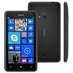 Smartphone Nokia Lumia 625 Preto Processador 1.2ghz Dual Core Tela 4.7, 4g, Windows Phone 8 Desbloqu