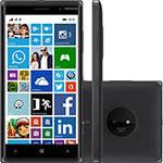 """Smartphone Nokia Lumia 830 Desbloqueado Windows 8.1 Tela 5"""" 16GB Wi-Fi Câmera 10MP GPS - Preto"""
