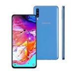 """Smartphone Samsung Galaxy A70 128GB 6.7"""" Dual Chip 4G Azul"""