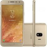 """Smartphone Samsung Galaxy J4 16GB SM-J400M Tela 5.5"""" Dual Chip 4G, Câmera 13MP, Android 8.0 Processador Quad Core e RAM ..."""