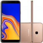 Smartphone Samsung Galaxy J4+ 32GB Dual Chip Tela 6 Câmera 13MP 5MP Android 8.1 Cobre