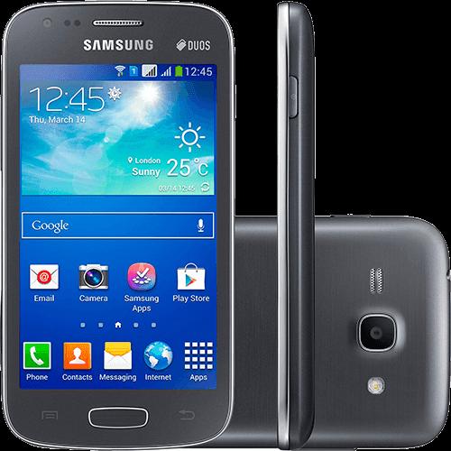 Smartphone Samsung Galaxy S II Duos S7273 Dual Chip Desbloqueado Tim Android 4.2 4GB TV Digital - Cinza