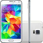 "Smartphone Samsung Galaxy S5 Desbloqueado Android 4.4.2 Tela 5.1"" 16GB 4G Wi-Fi Câmera 16 MP - Branco"