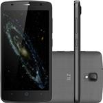 "Smartphone ZTE Blade L5 Dual Chip Android Tela 5.1"" 8GB 3G Wi-Fi Câmera 8MP - Cinza Escuro + Capa Branca"