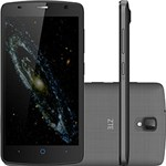 "Ficha técnica e caractérísticas do produto Smartphone ZTE Blade L5 Dual Chip Android Tela 5.1"" 8GB 3G Wi-Fi Câmera 8MP - Cinza Escuro + Capa Branca"