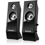 Speaker 2.0 Black Piano USB 8W - Multilaser