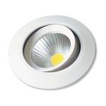 Spot Cob Redondo LED 3W 6000K Branco Startec