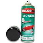 Spray Uso Geral Preto Star Metálico Ref 57151 - COLORGIN