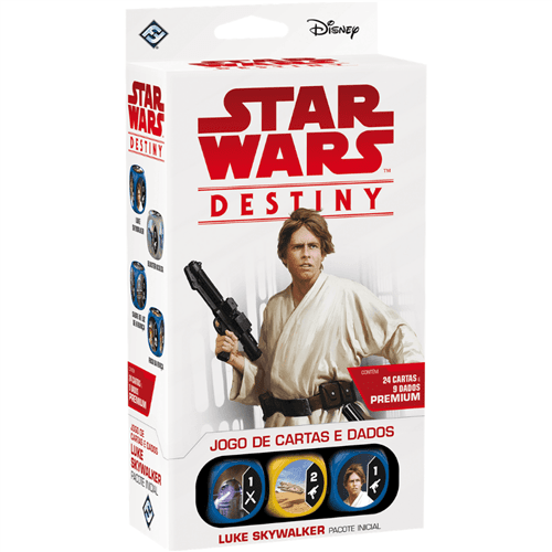 Ficha técnica e caractérísticas do produto Star Wars Destiny: Luke Skywalker - Pacote Inicial