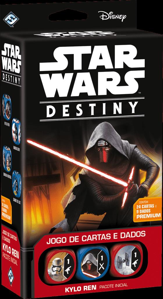 Ficha técnica e caractérísticas do produto Star Wars Destiny - Pacote Inicial Kylo Ren