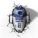 Ficha técnica e caractérísticas do produto Star Wars - Luminária R2-D2 - Beek