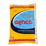 Sulfato de Alumínio Decantador 2kg Genco para Piscina