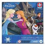 Super Quebra Cabeça 3D Frozen - Estrela
