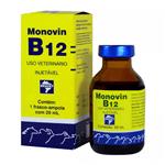 Ficha técnica e caractérísticas do produto Suplemento Injetável Bravet Monovin B12 para Bovinos 20ml