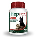 Suplemento Vetnil Hepvet para Cães e Gatos 30 Comprimidos