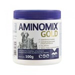 Ficha técnica e caractérísticas do produto Suplemento Vitamínico Aminomix Gold 100g - Vetnil