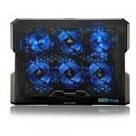 Ficha técnica e caractérísticas do produto Suporte P/ Notebook Até 17 C/ 6 Coolers Led Azul Multilaser AC282