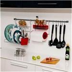Ficha técnica e caractérísticas do produto Suporte para Cozinha com 11 Peças Vermelho - Vermelho