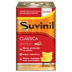 Ficha técnica e caractérísticas do produto Suvinil Acrílico Clássica Premium Fosco 18 Litros Branco