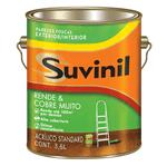 Ficha técnica e caractérísticas do produto Suvinil Acrílico Rende e Cobre Muito Standard 3,6 Litros Branco