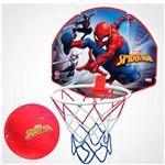 Ficha técnica e caractérísticas do produto Tabela de Basquete Spiderman