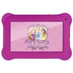 Ficha técnica e caractérísticas do produto Tablet Disney Princesas - 7 Polegadas - Wifi - 8GB Memória Interna Quad Core Rosa NB239 Multikids