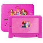 Ficha técnica e caractérísticas do produto Tablet Multilaser Disney Princesas 8GB Wifi 7'' Rosa - NB281