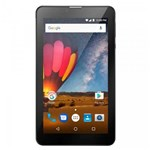 Ficha técnica e caractérísticas do produto Tablet Multilaser M7 3G Plus Quad Core 1GB RAM Câmera Tela 7 Memória 8