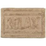 Ficha técnica e caractérísticas do produto Tapete de Banheiro Relax Caramelo