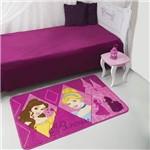 Ficha técnica e caractérísticas do produto Tapete Disney Princesas 080x120cm - Jolitex