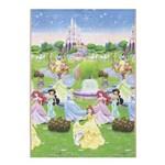 Ficha técnica e caractérísticas do produto Tapete Disney Recreio Enrolado Princesas 120x180 Cm - Jolitex - Verde