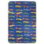 Ficha técnica e caractérísticas do produto Tapete Infantil Recreio Hot Wheels Azul 1,20x1,80m
