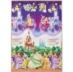 Ficha técnica e caractérísticas do produto Tapete Infantil Recreio Princesas Multicolorido 1,20x1,80m