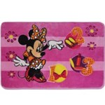 Tapete Oriental Disney 80x120 Minnie - Jolitex