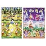 Ficha técnica e caractérísticas do produto Tapete Recreio Disney Princesas Roxo 120 X 180cm