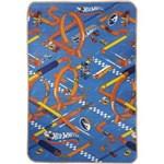 Ficha técnica e caractérísticas do produto Tapete Recreio Mattel Enrolado Hot Wheels 120X180 Jolitex