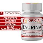 Ficha técnica e caractérísticas do produto Taurina 500Mg 60 Cápsulas