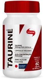 Ficha técnica e caractérísticas do produto Taurine 60 Cáps. - Vitafor