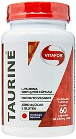Ficha técnica e caractérísticas do produto Taurine - 60 Cápsulas, Vitafor