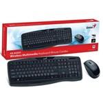 Ficha técnica e caractérísticas do produto Teclado Mouse Wireless Genius Kb-8000x