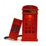 Telefone Cabine Vintage