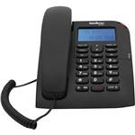 Telefone com Fio TC 60 ID Intelbras Preto