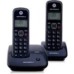 Telefone DECT Sem Fio Digital com Identificador de Chamadas e 1 Ramal Auri 2000-MRD2 Motorola