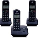 Ficha técnica e caractérísticas do produto Telefone DECT Sem Fio Digital com Identificador de Chamadas e 2 Ramais Auri 2000-MRD3 Motorola