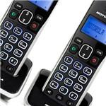 Telefone S/Fio C/Ident. Chamadas, Viva-Voz, Sec.Eletrônica + Ramal Auri 3500SEMRD2 - Motorola
