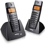 Ficha técnica e caractérísticas do produto Telefone S/ Fio DECT 6.0 C/ Identificador de Chamadas, Viva-Voz e Display Iluminado+ Ramal S/ Fio C/ Identificador de Chamadas, Viva-Voz e Display Iluminado - TS60C - Intelbras