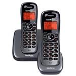 Ficha técnica e caractérísticas do produto Telefone Sem Fio com Ramal Preto Ts6122 Intelbras