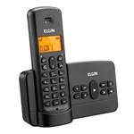 Ficha técnica e caractérísticas do produto Telefone Sem Fio Elgin TSF800SE Preto - Agenda, Acesso Remoto, Viva Voz